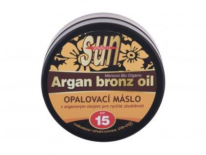 Vivaco Sun Argan Bronz Oil - opalovací přípravek na obličej SPF15