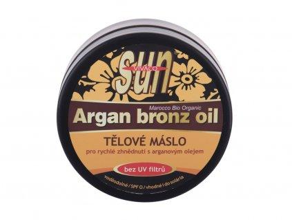 Vivaco Sun Argan Bronz Oil - opalovací přípravek na tělo Suntan Butter