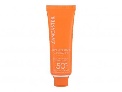 Lancaster Sun Sensitive Comforting Cream - opalovací přípravek na obličej SPF50+