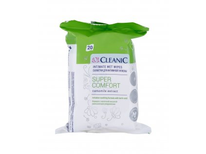 Cleanic Super Comfort Camomile - intimní kosmetika