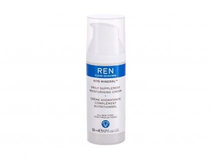 REN Clean Skincare Vita Mineral Daily Supplement Moisturising - denní pleťový krém