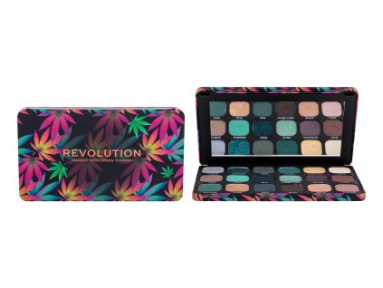 Makeup Revolution London Forever Flawless - (Chilled) oční stín With Cannabis