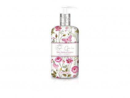 Baylis & Harding Royale Garden Rose, Poppy & Vanilla - tekuté mýdlo