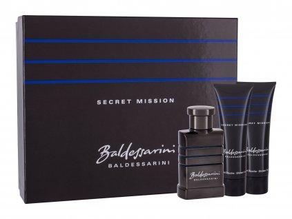 Baldessarini Secret Mission - toaletní voda 50 ml + sprchový gel 2x 50 ml