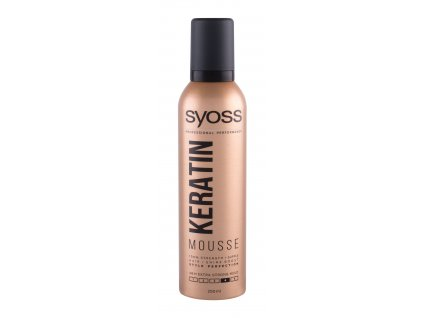 Syoss Professional Performance Keratin Mousse - tužidlo na vlasy