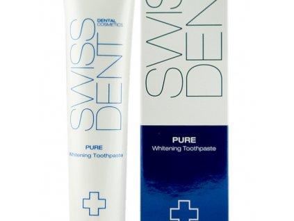 Swissdent Pure Whitening - bělící zubní pasta