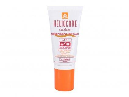 Heliocare Color Gelcream - (Brown) opalovací přípravek na obličej SPF50