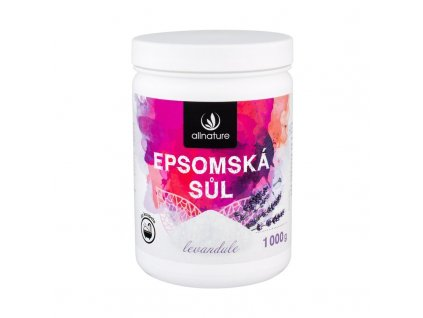 Allnature Epsom Salt Lavender - koupelová sůl