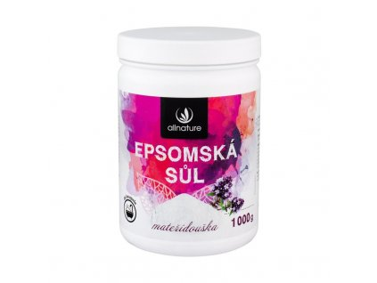 Allnature Epsom Salt Thyme - koupelová sůl