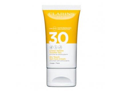 Clarins Zmatňující pleťový krém na opalování SPF 30 - (Dry Touch Sun Care Cream)