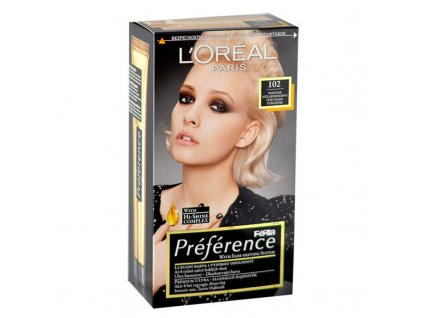 di ANGELO cosmetics Préférence Féria - (102 Iridescent Pearl Blonde) barva na vlasy