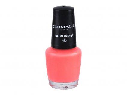 Dermacol Neon - (28 Neon Orange) lak na nehty