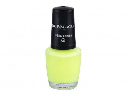 Dermacol Neon - (33 Neon Lemon) lak na nehty