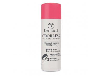 Dermacol Odorless - odlakovač nehtů