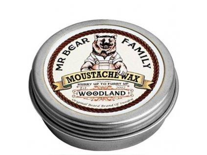 Mr. Bear Vosk na knír Woodland - (Moustache Wax)