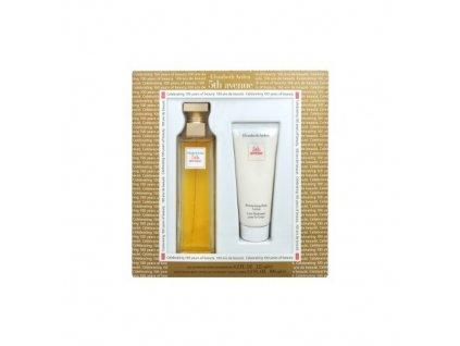Elizabeth Arden 5th Avenue - parfémová voda 125 ml + tělové mléko 100 ml dárková sada