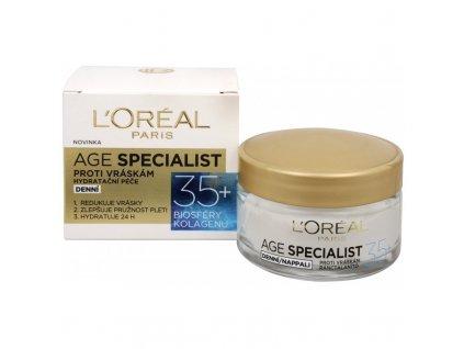 LOREAL Age Specialist - 35+ DENNÍ - krém proti vráskám
