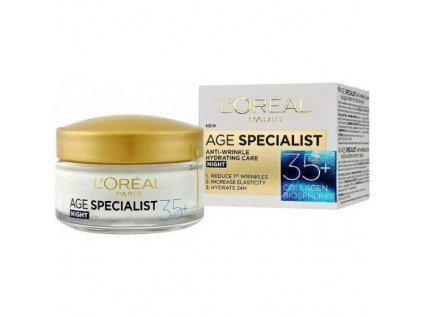 LOREAL Age Specialist 35+ NOČNÍ - krém proti vráskám