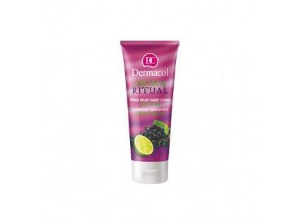 Dermacol Aroma Ritual Grape & Lime - Antistresový krém na ruce Hrozny s Limetkou