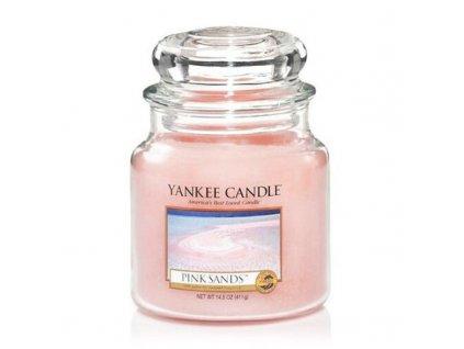 Yankee Candle Aromatická svíčka střední Pink Sands