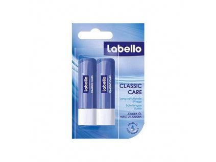 Labello Balzám na rty Labello Classic double pack 2x4,8g
