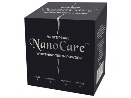VitalCare Bělicí pudr na zuby s nano technologií - (Whitening Teeth Powder)