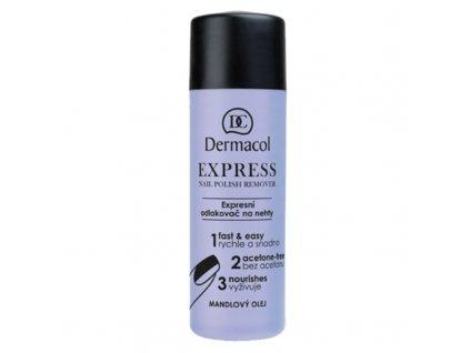 Dermacol Expresní odlakovač na nehty - (Express Nail Polish Remover)
