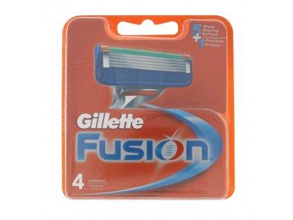 Gillette Fusion - náhradní břit pro muže 4 ks
