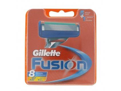 Gillette Fusion - náhradní břit pro muže 8 ks