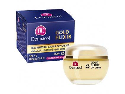 Dermacol Gold Elixir Rejuvenating Caviar - denní krém