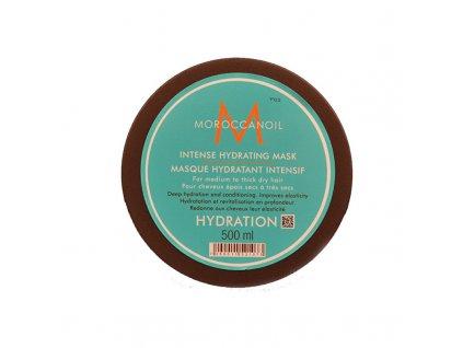 Moroccanoil Hloubkově hydratační maska s arganovým olejem na suché vlasy - (Intense Hydrating Mask)