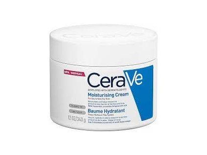 CeraVe Hydratační krém pro suchou až velmi suchou pokožku - (Moisturising Cream)