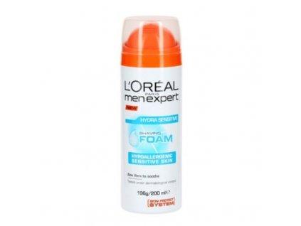 L´Oréal Paris Hydratační pěna na holení pro citlivou pleť Men Expert - (Hydra Sensitive Shaving Foam)