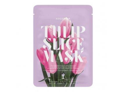 Kocostar Hydratační plátková maska Tulipán - (Slice Sheet Mask)