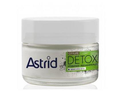 Astrid Hydratační rozjasňující denní krém OF10 Citylife Detox