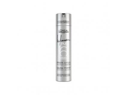 Loreal Professionnel Hypoalergenní lak na vlasy bez parfemace pro silnou fixaci účesu Infinium Pure - (Strong Hairspray)