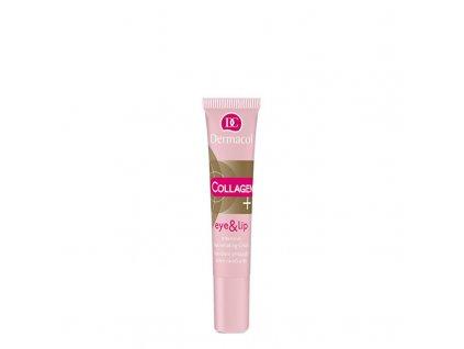 Dermacol Intenzivní omlazující krém na oči a rty Collagen Plus - (Intensive Rejuvenating Eye & Lip Cream)