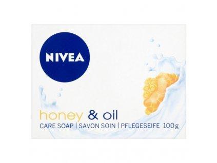 Nivea Krémové tuhé mýdlo Honey Oil - (Creme Soap)