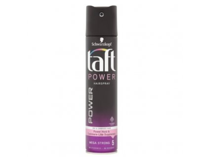 Taft Lak na vlasy Power Cashmere Mega Strong 5 - (Hair Spray)