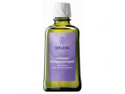 Weleda Levandulový zklidňující olej