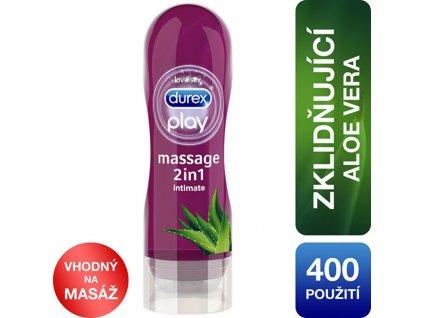 Durex Lubrikační gel Play Masážní gel 2v1 s Aloe Vera