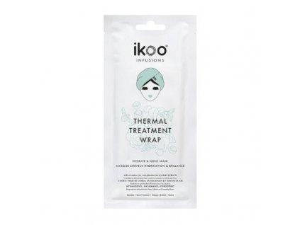 Ikoo Maska pro hydrataci a lesk suchých a kudrnatých vlasů Hydrate & Shine - (Thermal Treatment Wrap)