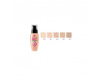 Dermacol Matt Control MakeUp - make-up odstín 2