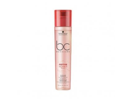 Schwarzkopf Professional Micelární šampon pro poškozené vlasy BC Bonacure Peptide Repair Rescue - (Micellar Shampoo)