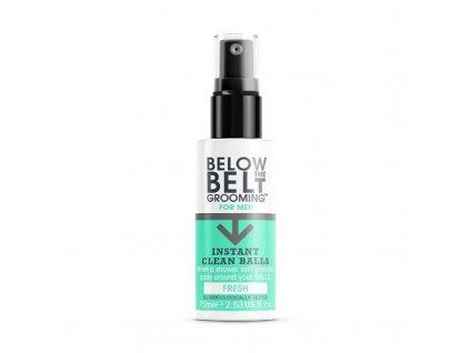 Below the Belt Mycí sprej na intimní hygienu pro muže Fresh - (Instant Clean Balls)