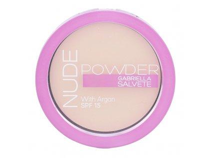 Gabriella Salvete Nude Powder - (01 Pure Nude) pudr SPF15