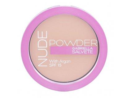 Gabriella Salvete Nude Powder - (03 Nude Sand) pudr SPF15