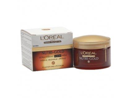 LOREAL Nutri-Gold - noční krém 50 ml