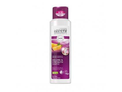 Lavera  Objemový šampon pro jemné vlasy - (Volume & Strenght Shampoo)