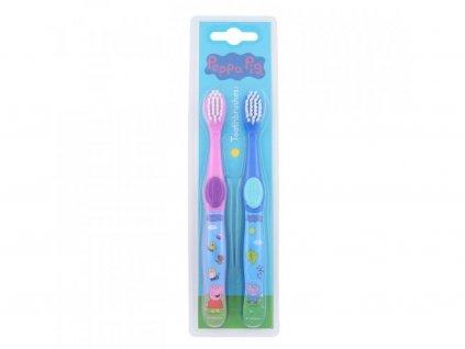 Peppa Pig Peppa zubní kartáček 1 Ks